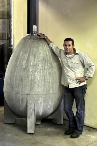 Gottfried Mocke and egg tank
