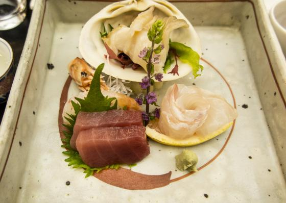 Say sashimi