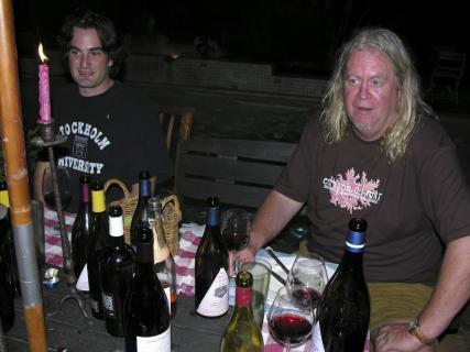 Jim Clendenen and magnum