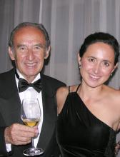 Nicolás and Laura Catena