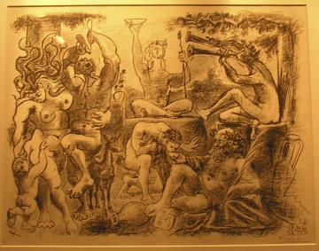 Pictures from a museum: Picasso Bacchanal