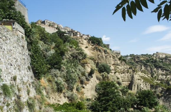 View of Rabatana from Tursi