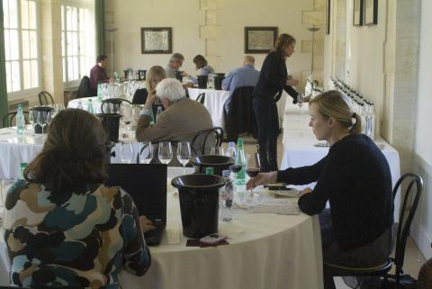 Tasting, Tasting, Tasting, at Château Cantemerle