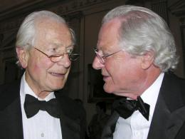 Two Roués: Michael Broadbent and Baron Philippe de Rothschild